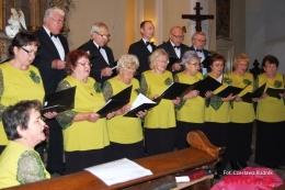 Koncert w kościele w Lutyni
