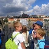 Widok na Hradczyny z Mostu Karola