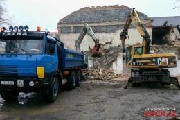 Rozbiórka Domu Kultury w Jabłonkowie