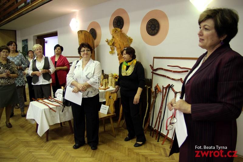 Wystawa rękodzieła w Lesznej
