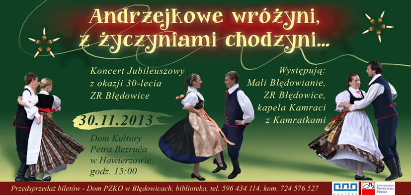 """Koncert jubileuszowy ZR """"Błędowice"""""""
