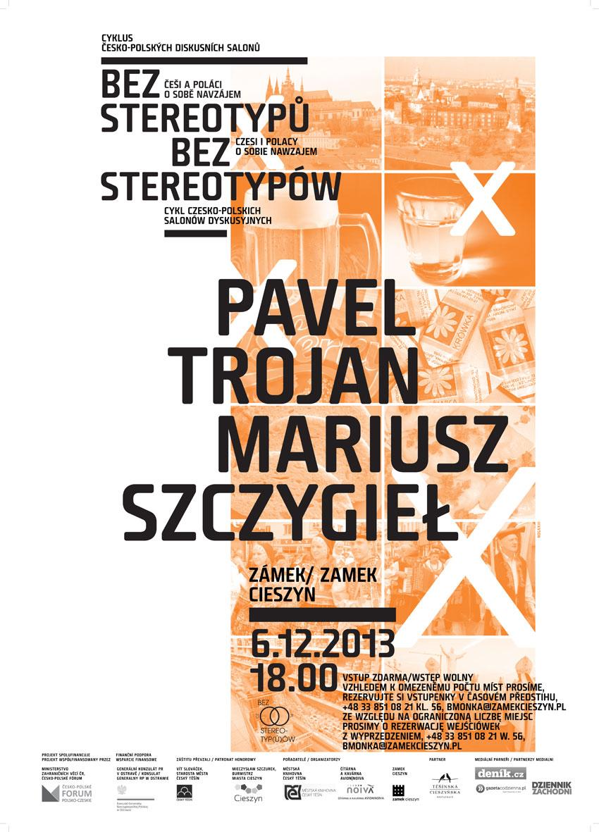 Pavel Trojan i Mariusz Szczygieł