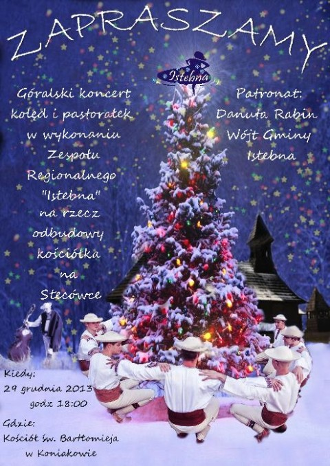 Koncert kolęd w Koniakowie