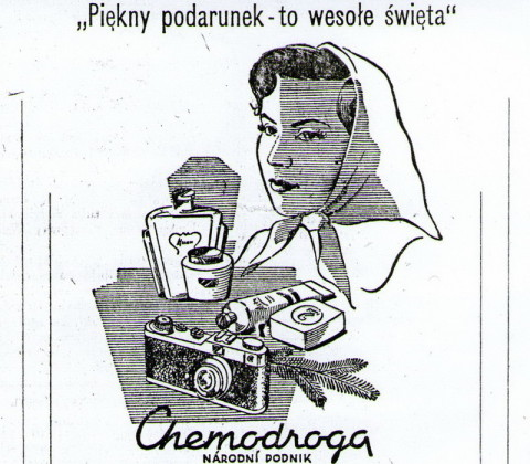 Reklama z 1950 roku