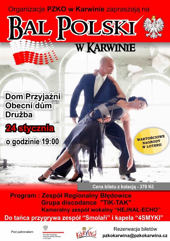 Bal Polski w Karwinie