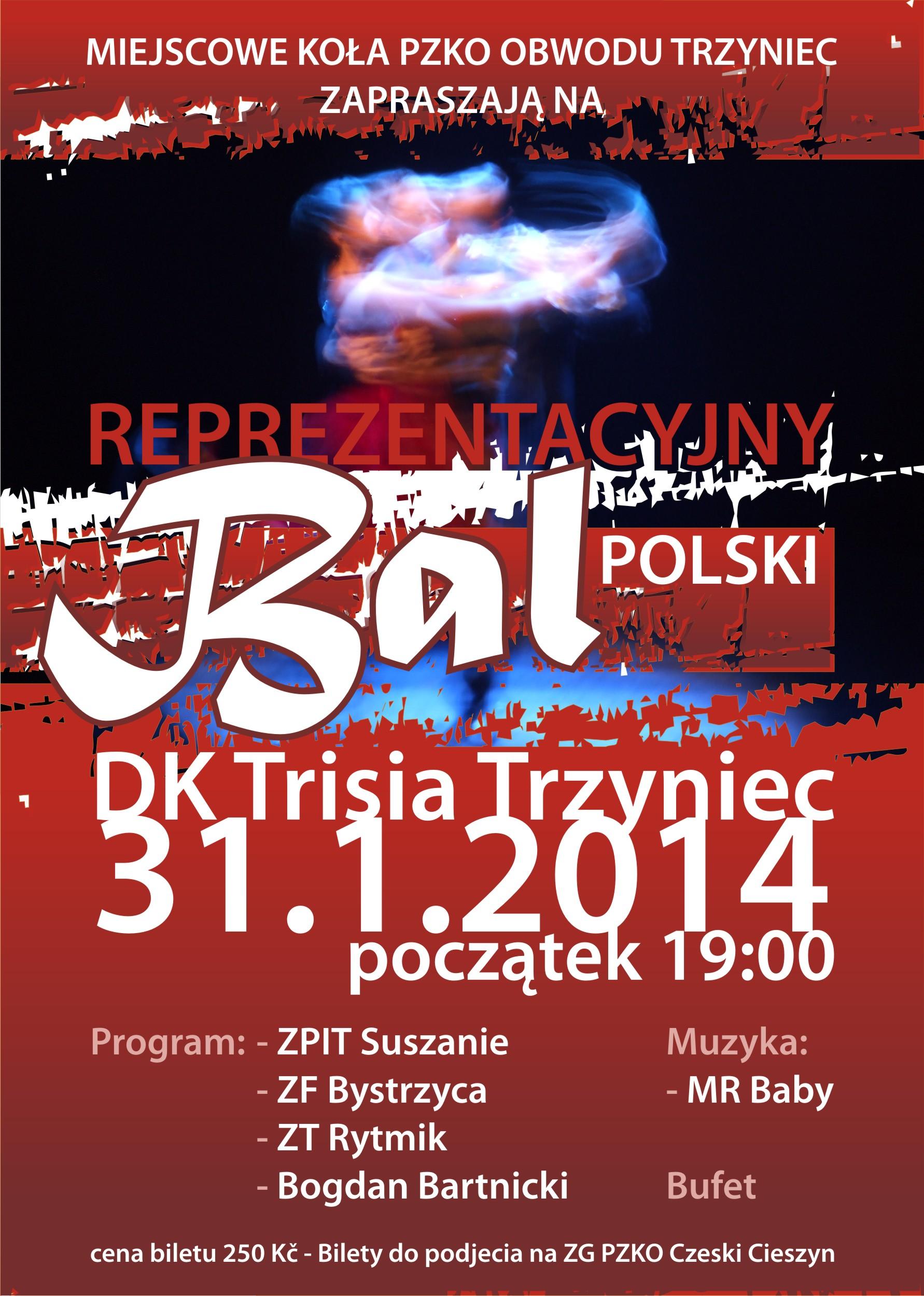 Bal Reprezentacyjny w Trzyńcu