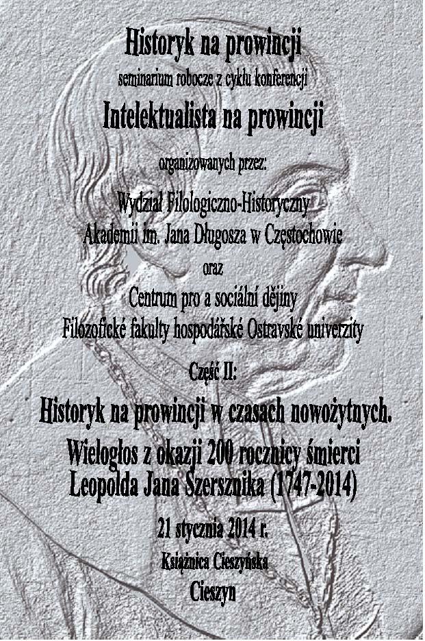 Historyk na prowincji