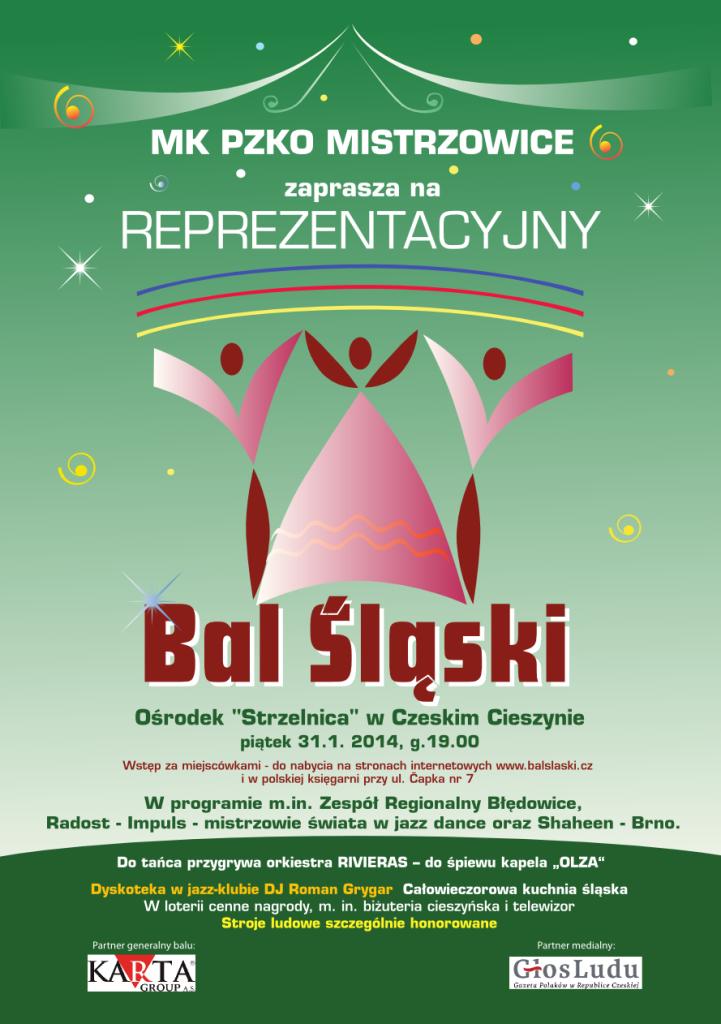 Bal śląski 2014
