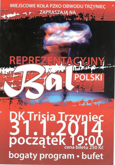 Reprezentacyjny Bal Polski w Trzyńcu