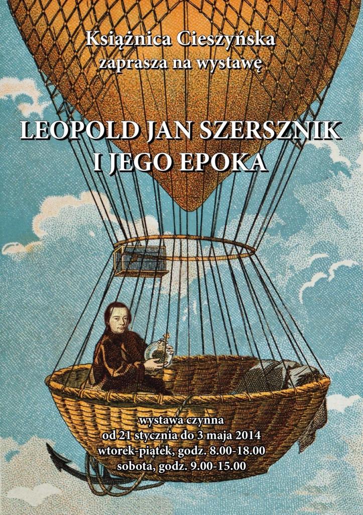 """Leopold Jan Szersznik i jego epoka"""