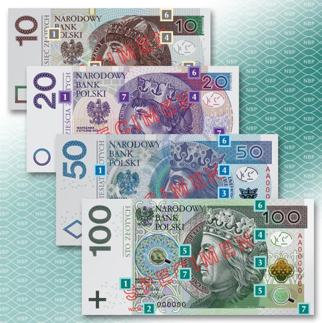 Zmiana banknotów