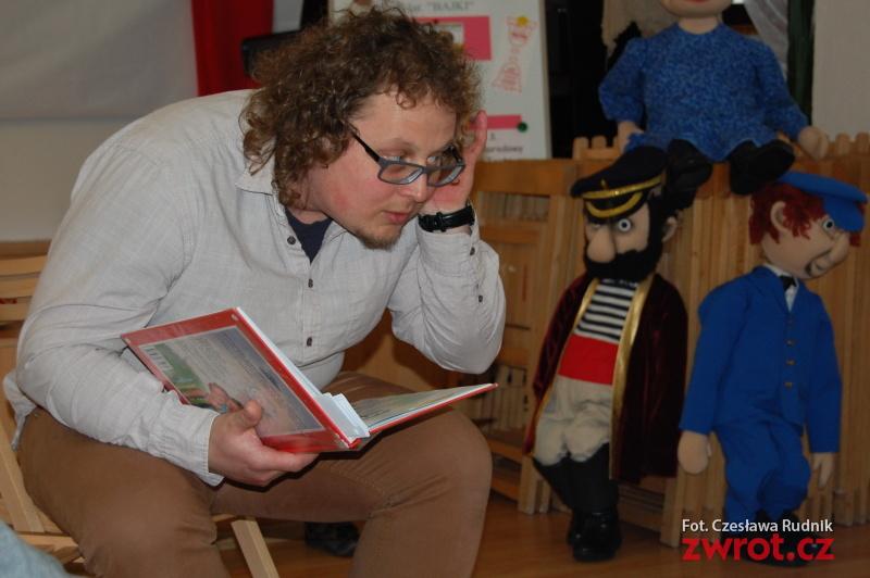 Jakub Tomoszek czytał dzieciom (fotogaleria)