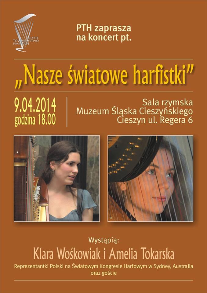 Koncert światowych harfistek