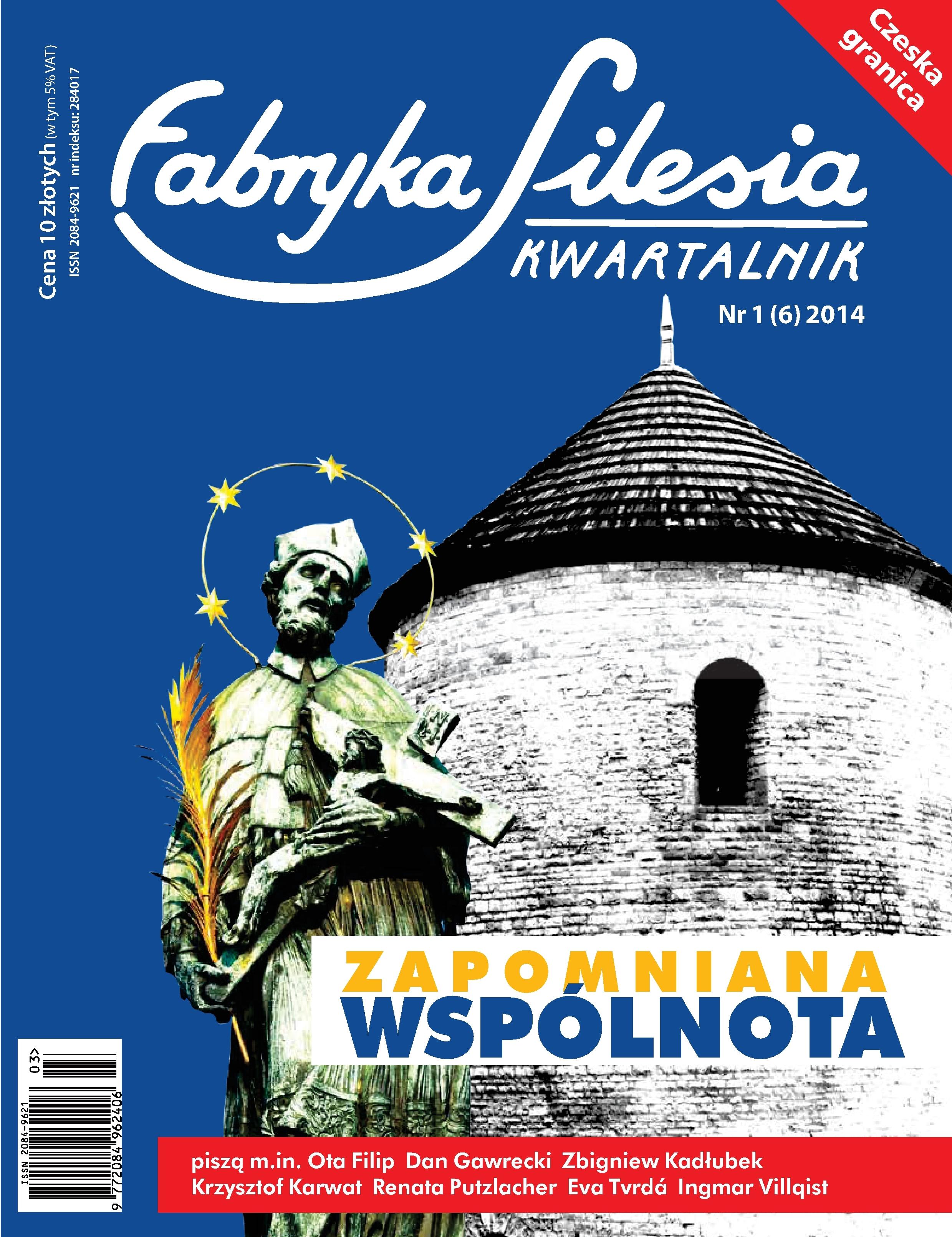 "Nowy numer kwartalnika ""Fabryka Silesia"""