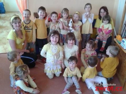 Kolorowo w ropickim przedszkolu