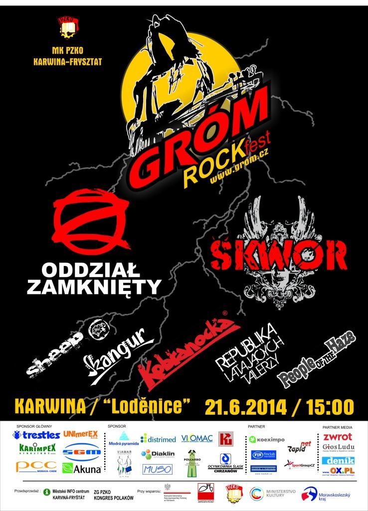 GRÓM ROCKfest 2014