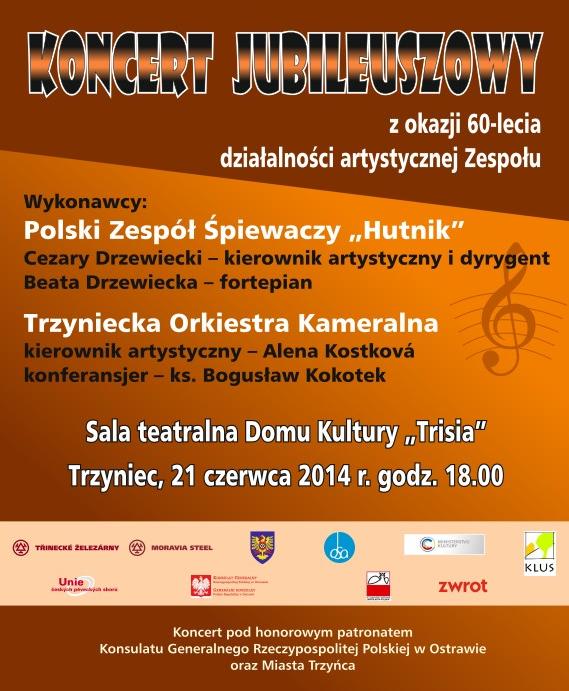 "PZŚ ""Hutnik"" zaprasza na koncert"