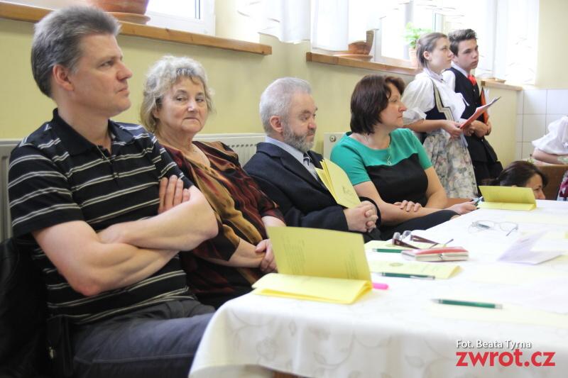 Richter w jury powiatowego VII Gwarowego Konkursu Recytatorskiego
