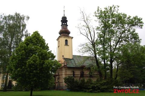 Kościół św. Marka w remoncie