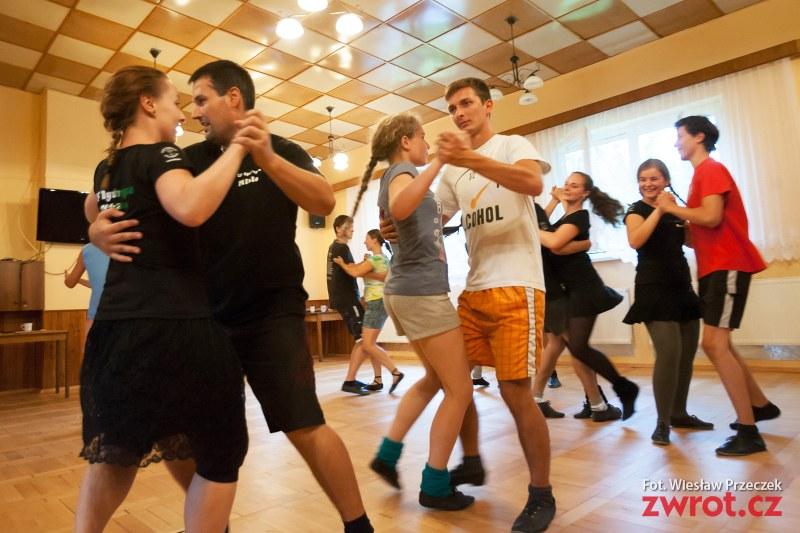 Tancerze Łączki i Bystrzycy pilnie ćwiczą (zdjęcia)
