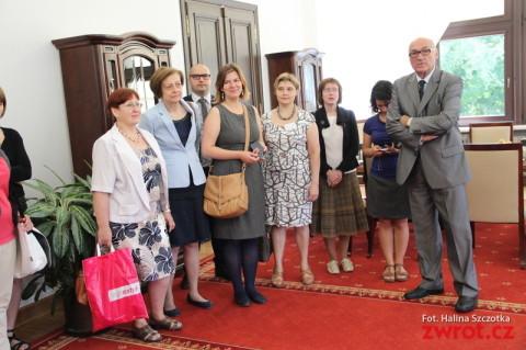 Dziennikarze polonijni u Borusewicza