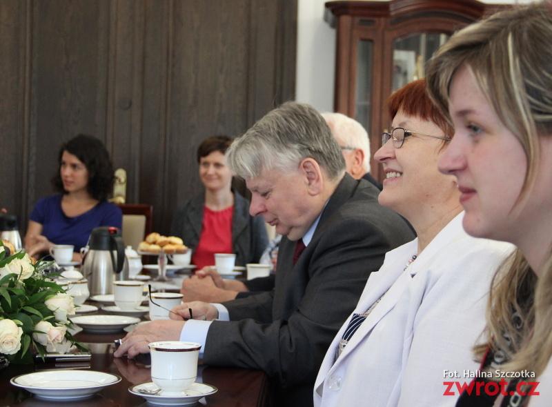Bogdan Borusewicz spotkał się z dziennikarzami