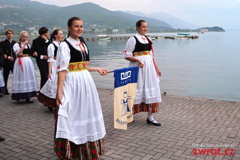 Tancerze z Błędowic w Macedonii