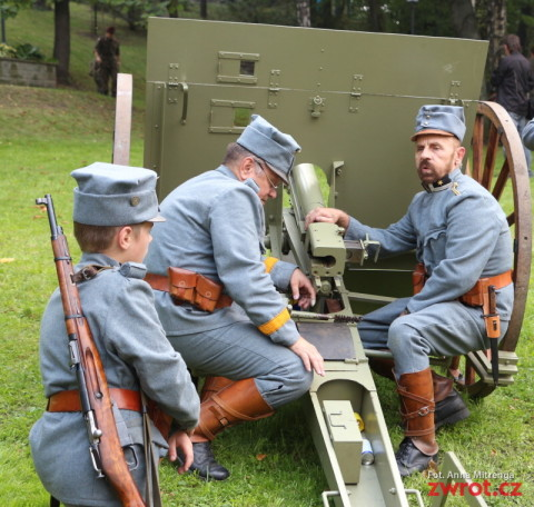 Wystrzały z armat zagrzmiały na Wzgórzu Zamkowym