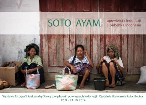 Wystawa zdjęć z wędrówki po wyspach Indonezji