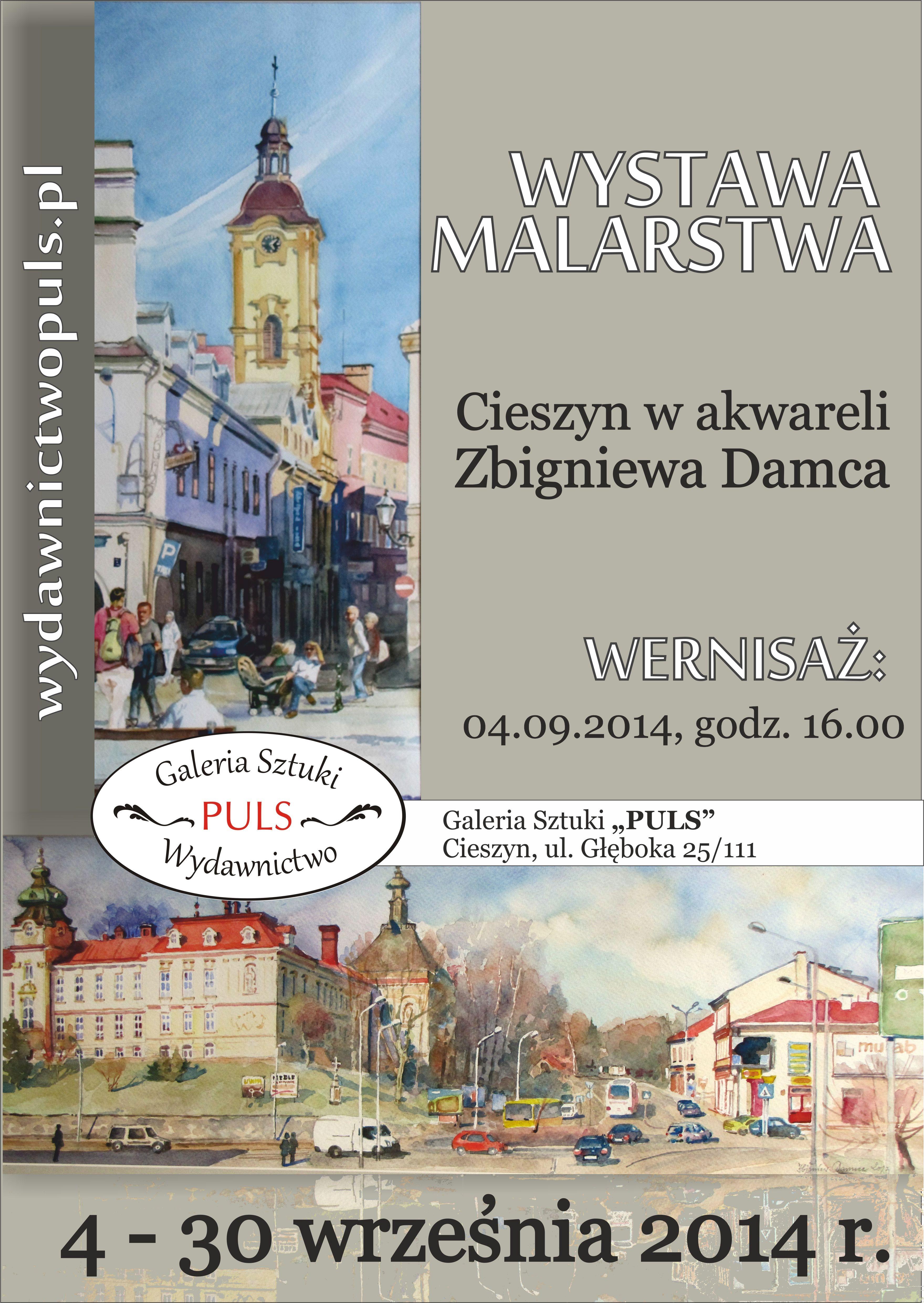 Akwarele Zbigniewa Damca