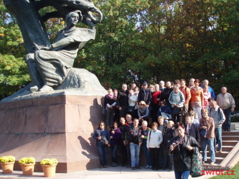 Milikowianie zwiedzili Warszawę