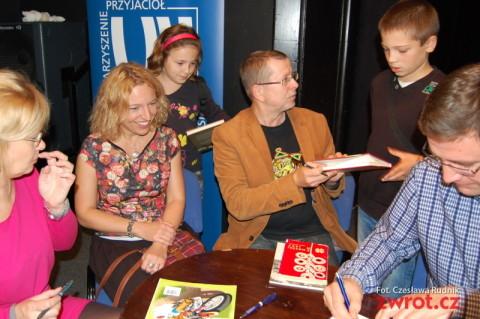 Pisarze z Polski gościli na Zaolziu (zdjęcia)