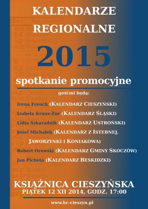 Promocja Kalendarzy w Książnicy Cieszyńskiej