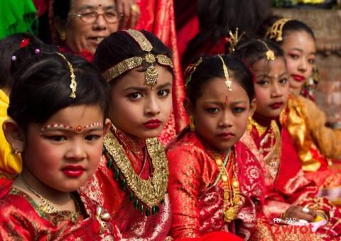Bel Bibah ritual in Kathmandu, Nepal