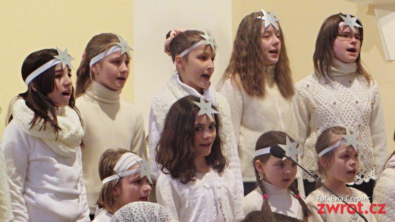 Dzieci kolędowały w Parafii św. Katarzyny