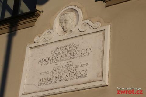 Spacerować ulicami, gdzie chadzał Mickiewicz