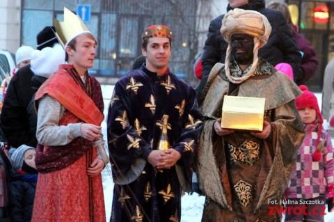 Trzej królowie wyruszyli po dary