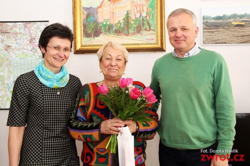 Małgorzata Rakowska w ratuszu