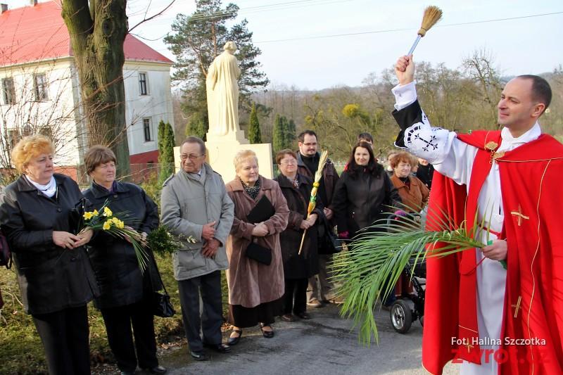 Niedziela w Stonawie pod znakiem palmy