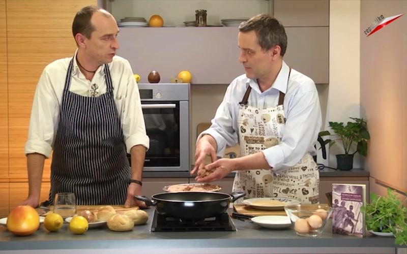 O Zaolziu w kuchni TV Republika