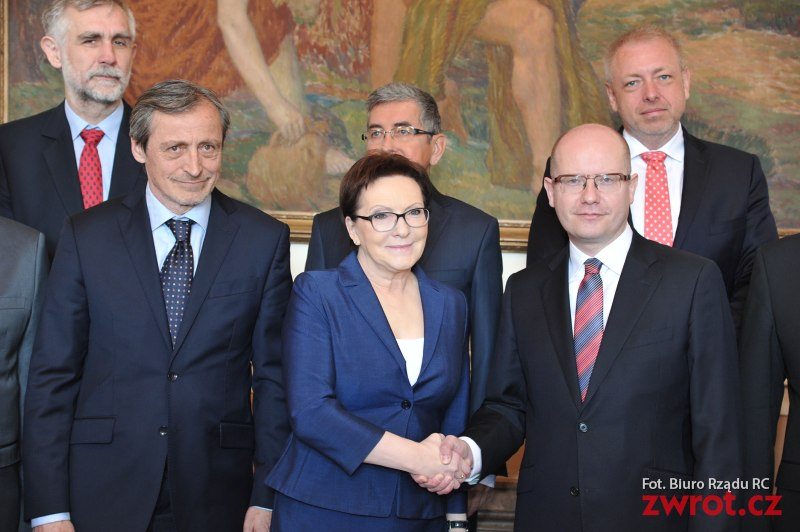 Polacy i Czesi obradują w Pradze