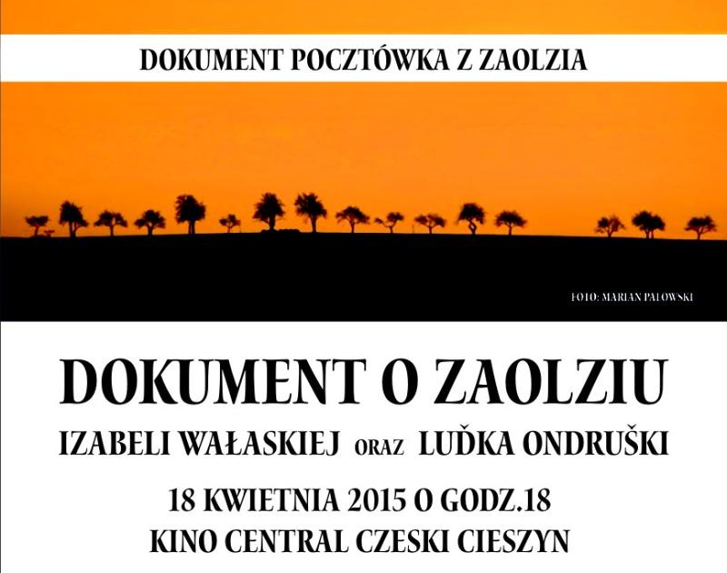 """W sobotę premiera filmu """"Pocztówka z Zaolzia"""""""