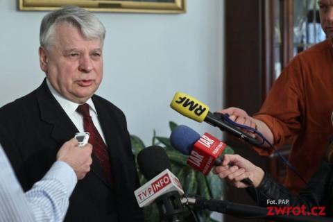 Marszałek Borusewicz o mediach