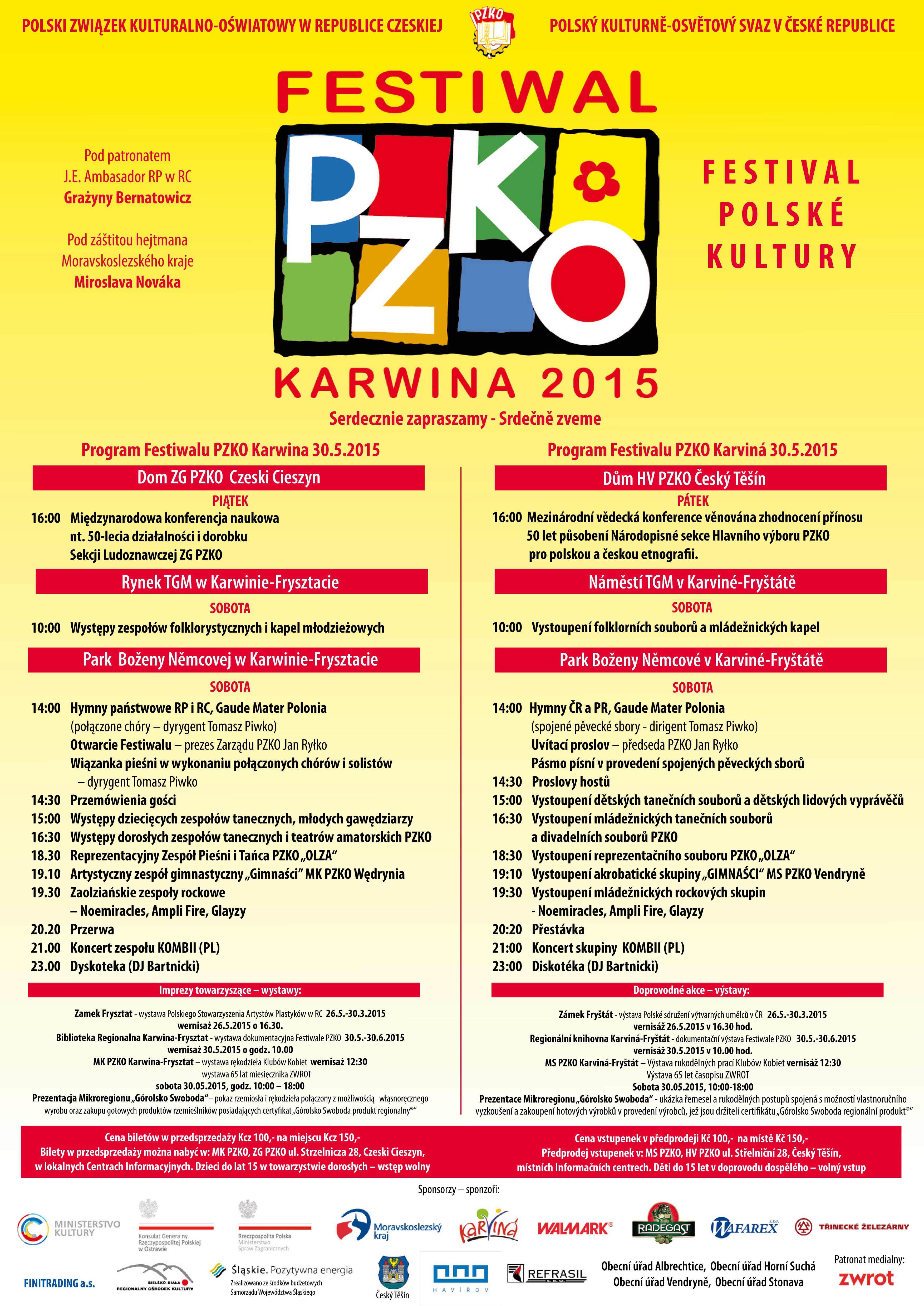 Gdzie kupić bilety na Festiwal PZKO?