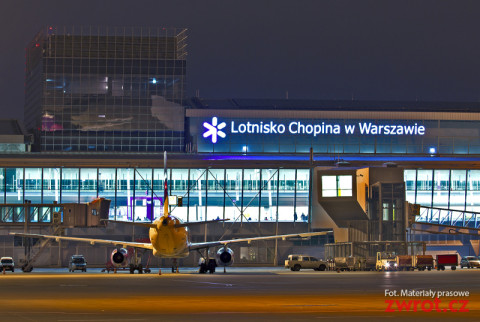 Terminal - front płytaFot. Dariusz Kłosiński - Lotnisko Chopina