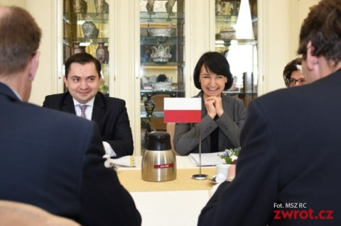 Polsko-czeskie konsultacje w Pradze