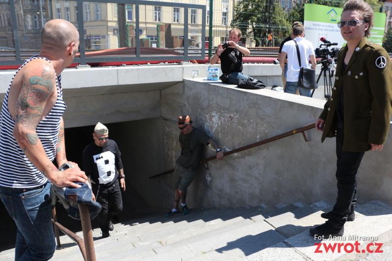 Gdańska kapela kręciła klip nad Olzą