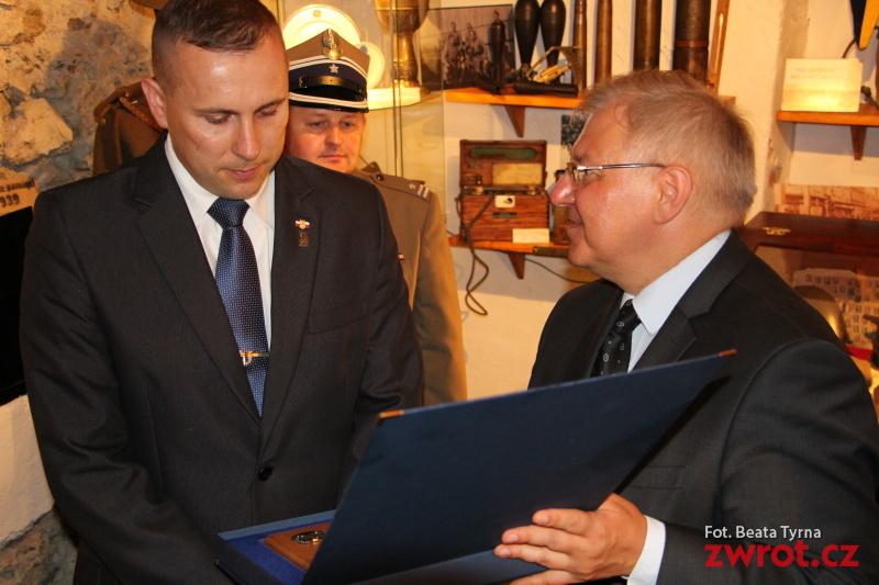 Medal dla Krzysztofa Neściora