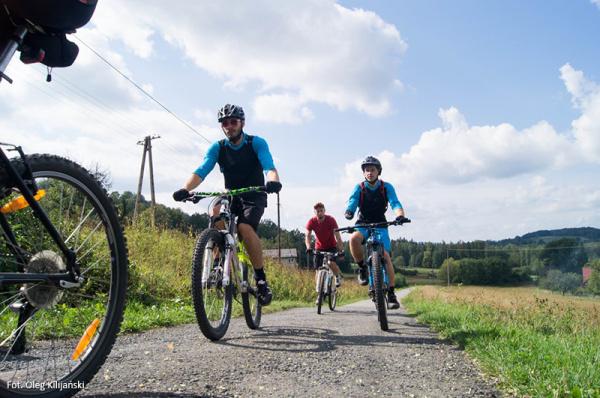 Na rowerze z dziekanem i wykładowcami