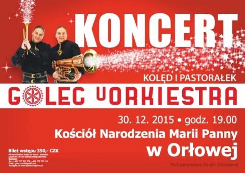 plakat Golec Orlova